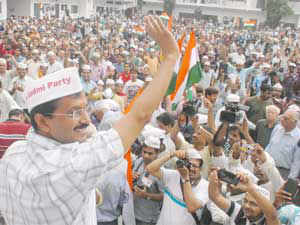 Arvind Kejriwal-led Aam Aadmi Party (AAP) today got 'broom' as its election symbol for the upcoming Delhi Assembly polls.