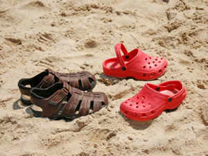 For most Indian consumers, footwear brand Crocs means colourful rubbery clogs with holes, mostly worn during the monsoons.