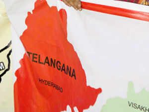 Upset over the ruling Congress and UPA's decision to create Telangana, seven Congress MPs from Andhra Pradesh today quit Parliament