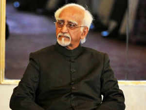 "Chairman Hamid Ansari described the July 7 terrorist attack on Mahabodhi temple as ""senseless act of violence"" and said the attack on a world heritage site and holiest seat for Buddhists was ""a cause of anguish and deep concern to all."""