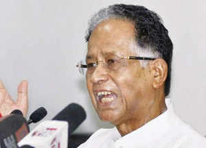 Gogoi out to douse fire which was triggered by Telengana