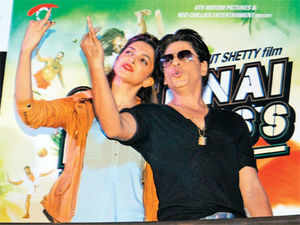 Going by the weekend trends and with a national holiday coming up, trade insiders expect Chennai Express to run up Rs 160-180 crore collections from the domestic market.