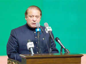 """Nawaz Sharif today said he was looking forward to meeting his Indian counterpart in New York to turn a """"fresh page"""" in bilateral relations."""