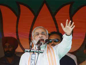 """A day after he lashed out at the Prime Minister, Narendra Modi was today at the receiving end with Congress leaders dubbing him a """"national embarrassment""""."""