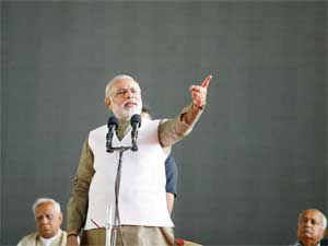 """Mallikarjun Kharge today slammed Narendra Modi for attempting to """"equate"""" himself with the Prime Minister in his Independence Day address."""