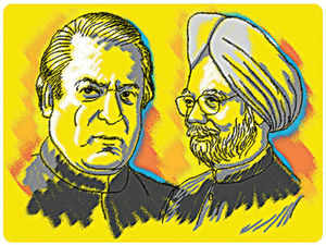 """This week's """"Poke Me"""", invited your comments to debate on ' Why Manmohan Singh must continue talking to Nawaz Sharif '."""