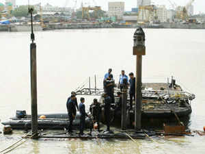 The divers have gained a second access to the submarine late last night when they successfully prised open the rear escape hatch which was submerged below and jammed.