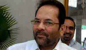 UPA has pushed the nation hundred years back: Naqvi