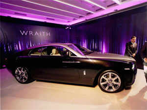 Rolls Royce today launched its 'Wraith' model with a price starting at Rs 4.6 crore in India, as part of its expansion plans in the country.