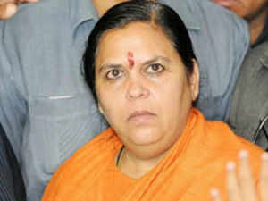 On the issue of the Ram Temple, she said that it is on the agenda of the Hindus and the BJP cannot ignore the majority community's sentiments.