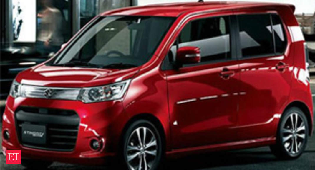 Maruti Launches Wagonr Stingray At Rs 4 10 Lakh The Economic Times