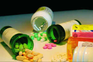 The drug was supplied to three different parties without label to enable them to sell the drug under their own label.