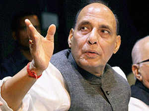 BJP president Rajnath Singh on Thursday supported the yatra claiming that the yatra was related to the faith of Hindus and its saints.