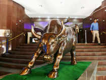 However, Sensex pared some of the morning gains and was trading 186 points or 1.01 per cent at 18,705.24. It touched a high of 18,728.19 and a low of 18,602.56 in trade today.