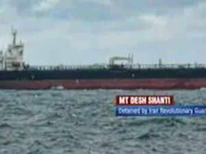 The tanker was seized in Persian Gulf while carrying crude from Basrah in Iraq and was taken to Bandar Abbas port.
