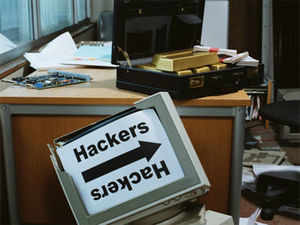 The website of the Electronics Corporation of India Ltd (ECIL) was hacked and documents involving the Bhabha Atomic Research Centre (BARC) and Indian Space Research Organization (ISRO) were leaked by an online hacker on Saturday.