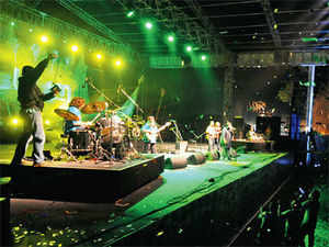 Despite being bombarded with Bollywood tunes, music fans are increasingly thronging performances by local talent with something different to showcase