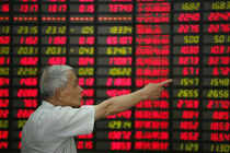 Japanese shares rallied and the yen dropped on Monday after Tokyo won its bid to host the 2020 Summer Olympics, while Asian shares also gained on mildly upbeat Chinese trade data.