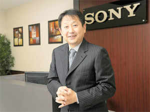 """""""The professional business can become a saving grace in the current economic situation in India,"""" says Sony India managing director Kenichiro Hibi."""