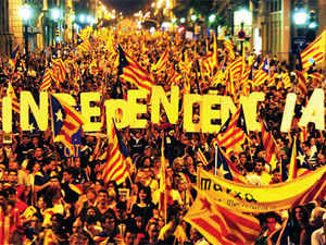 Democracy arrived in Spain after 50 years of dictatorship, and since then Catalonia has been demanding independence.