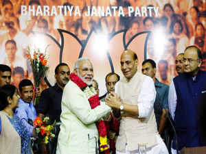 India Inc welcomed Narendra Modi's nomination as BJP's prime ministerial candidate on the strength of his track record in transforming Gujarat.