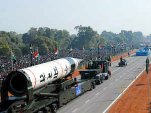 The three stage, solid propellant missile was test-fired from a mobile launcher from the launch complex-4 of the ITR at about 8:50 AM, sources said. (BCCL)
