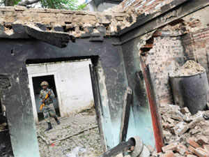 Facing heat over the violence in Muzaffarnagar, the UP government today suspended and ordered departmental action against the then SSP, Muzaffarnagar.