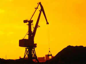 The country's production of minerals fell by 2.3 per cent in July vis-a-vis a year-ago period and was valued at Rs 16,641 crore.