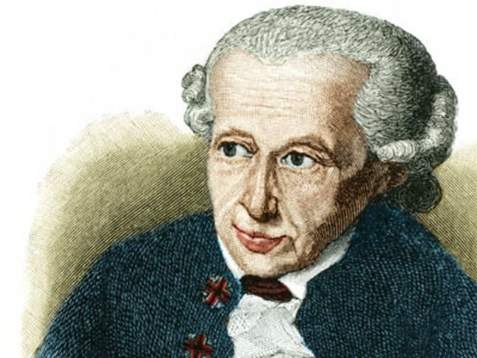 a look at the philosophy of morality by immanuel kant The 1700s saw many great thinkers who have left a lasting impact on modern philosophy and science  david hume and immanuel kant  in order to have morality, kant.