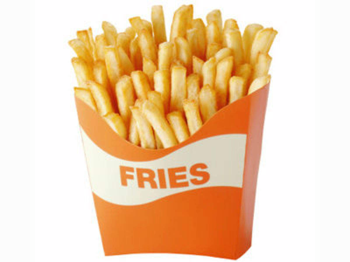 French fries are now one of the largest selling snacks in