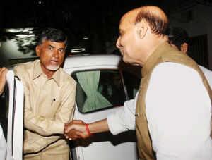A regime change at centre alone can save India story: Chandrababu Naidu