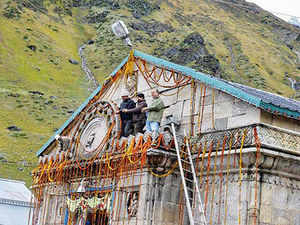 Chief Secretary Subhash Kumar, who visited Kedarnath to take stock of the arrangements there, said pre-fabricated houses fitted with power and water facilities and a capacity to accommodate 100 persons are ready at the shrine.