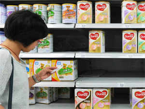 Faced with a local supply-side crisis China is buying huge quantities of dairy from the internationally traded market - squeezing out many other buyers.