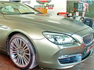 A growing class of affluent Indians are ready to swipe the plastic for luxury wheels and yachts but will still look out for the cut price.