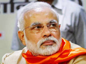 As the BJP was all geared up for Modi's rally in Delhi this morning, a pre-emptive tirade against him was launched with pamphlets, dubbing him as 'Feku'