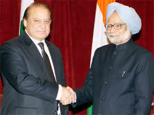 "Sharif termed his meeting with Singh as ""productive and said all important issues, including Kashmir and Sir Creek, were discussed."