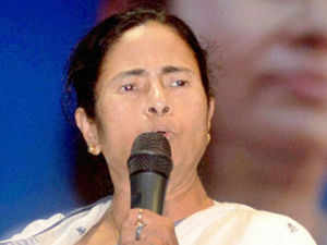 """Mamata Banerjee, dwelling on the """"economic deprivation"""" of the state said she would personally lead a demonstration to Delhi to protest it."""