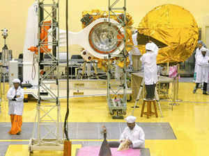 """It was put in a special container where we have the monitoring of the environment inside"", an official of the ISRO  said."