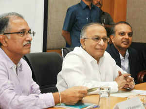 """""""Constitutionally, Hyderabad is an Indian city. Like Bengaluru and Chennai, it has now become an international city,"""" Reddy told a press conference."""