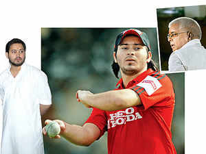 It may well be time for Tejashwi to pad up. Unlike in the IPL, he finds himself in the RJD XI. But it may be some time before he's made its skipper.