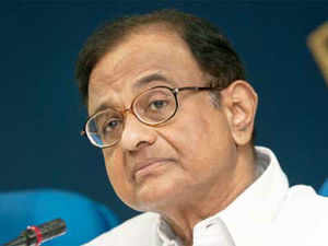 """Chidambaram dismissed the dazzling emergence of Modi on the national political stage as """"largely media created""""."""