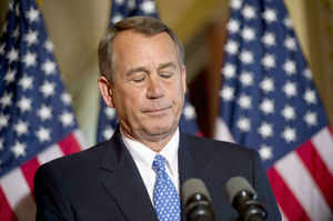 John Boehner, who has failed to win talks with President Barack Obama, faces another challenge as well: what to say to Obama about the debt ceiling if they ever meet to discuss terms.