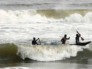 The very severe cyclonic storm 'Phailin', expected to make landfall at Gopalpur in Odisha, moved closer to the state and lay about 600 km southeast of Paradip