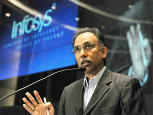 The credit for steadying Infosys belongs to chief executive S D Shibulal who reoriented the company about a year ago to focus on growing the topline.