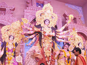 A darshan of resplendent Goddess Durga in all her finery beating queues can easily be had at pandals this year by buying VIP passes, a new element in the pujas this year