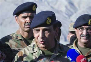 """The 61-year-old army chief described terrorism as a """"big challenge"""" that goes against both Pakistan's ideology and Islamic teachings."""