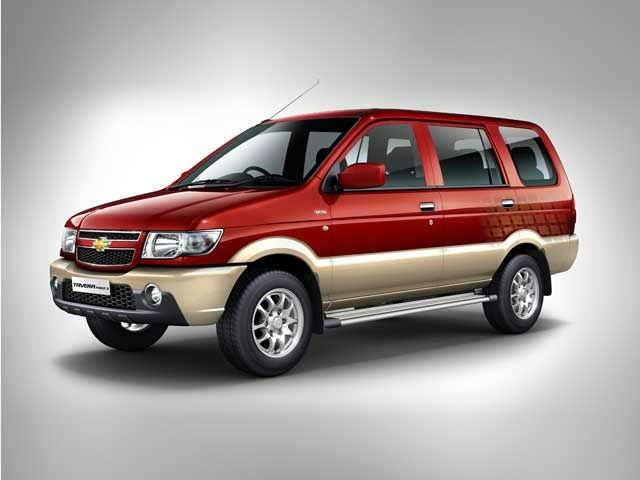 Chevrolet Tavera Neo 3 Eight Suvs And Mpvs That Nissan Terrano