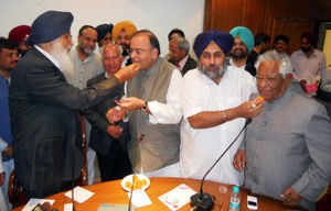 "SAD-BJP govt in Punjab ""surviving"" on central grants"