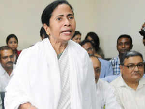 Mamata Banerjee today blamed the release of water from reservoirs in Jharkhand by the Damodar Valley Corporation for floods in a number of south Bengal districts. (BCCL)