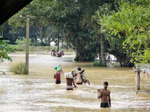 "Opposition parties today accused the BJD government in Odisha of ""failing"" to provide relief to cyclone and flood victims. (PTI)"